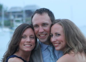 The joy of our lives: Gail, Andy, Sarah